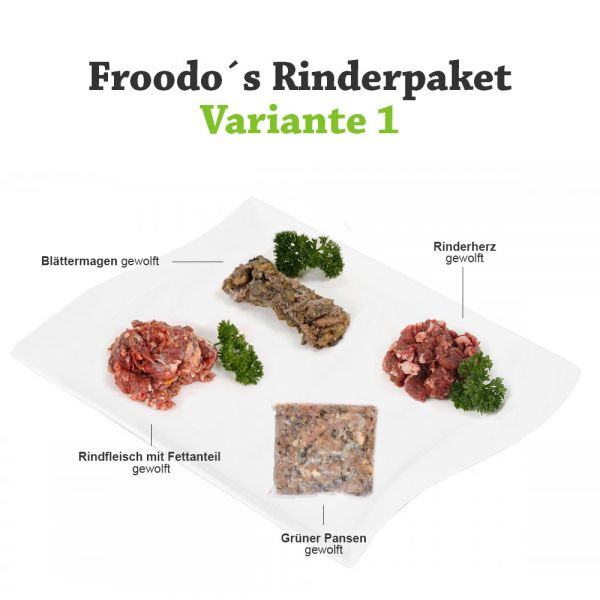 Froodo´s Rinderpaket 1