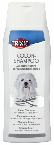 Color Shampoo für helles Fell